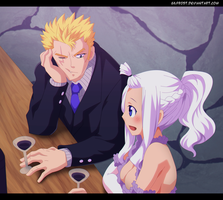 Fairy Tail 545 - Laxus and Mira by Gilfrost