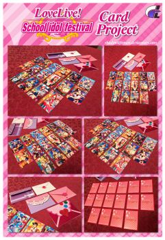 Love Live SIF - Card Project by ShadowLifeman