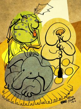 Max Rebo Band by JoJo-Seames