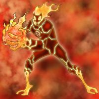 ben 10 heatblast by sniperwolf66