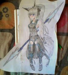 Luna Armor redesign (You Can RP with her here) by sword40