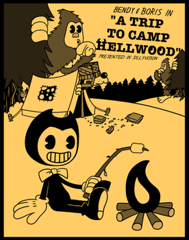Bendy and Boris in, A TRIP TO CAMP HELLWOOD by NM-Kuhn