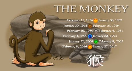 Year of the Monkey by BlazeTBW