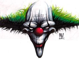 Scary Clown by berL
