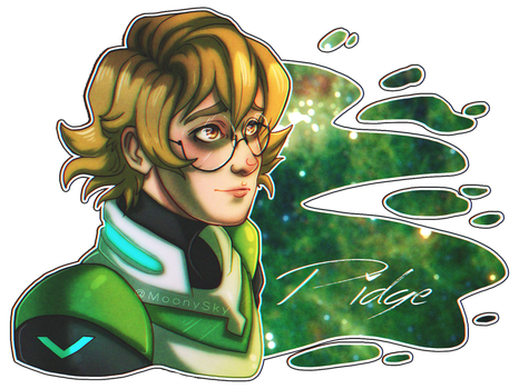 Pidge by TimelordLoki