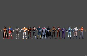 'DC Universe Online' DCU Pack 2 XPS ONLY!!! by lezisell