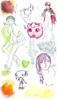 Yay yay 2010 Tablet Doodles by MagicalGirlYossy