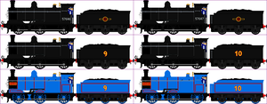 NWR No. 9 And 10 Donald And Douglas by Princess-Muffins