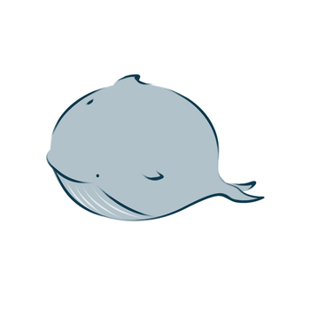 Round Whale by Kimmy90