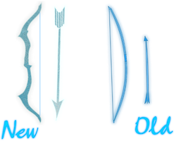 [Alex Weapon] Frost Bow: New vs Old by PhoenixFury17