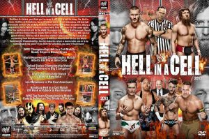WWE Hell in a Cell 2013 DVD Cover V3 by Chirantha