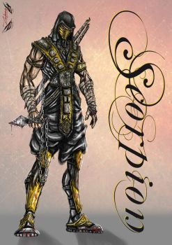 Scorpion Redesign by Zupano
