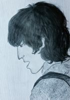 George Harrison by Inamainwaring