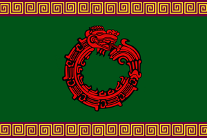 Flag of the Aztec Empire by ArthurDrakoni