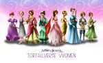 Tortallverse Women by Kate-Kyrillion