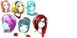 sketchies by anime-girl1709
