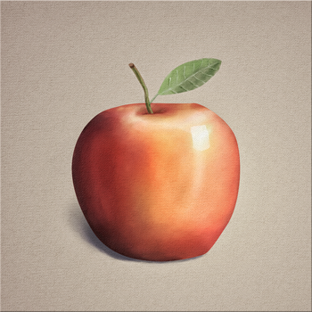 An  Apple by hullabaloon