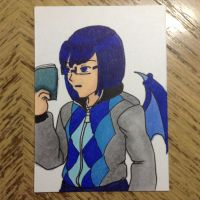 AoH - Copic - S1 Draco Vesylia by Aisuryuu