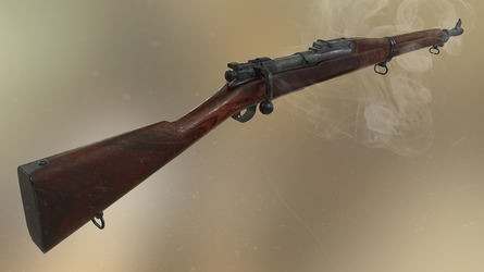 M1903 Springfield Mark 1 by newdeal666