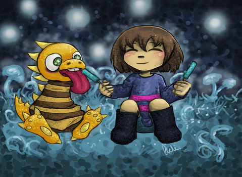 Undertale: Bisicles are for sharing by Aeki