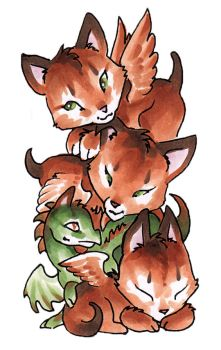 Kittie stack by dhstein