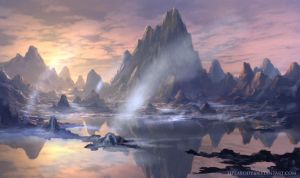 Alien Landscape 20140425 by jjpeabody