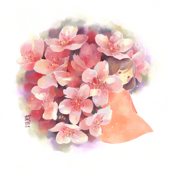 Flower Study 0.2 by Naomame