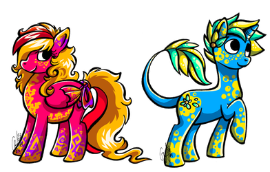 Pony characters [CLOSED] by Contugeo