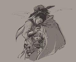 McHanzo. by SelenChucre