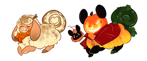 pumpkin flufferbun adopts | CLOSED by irlnya