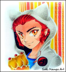 Young Leon-O, Thundercats by Suki-Manga