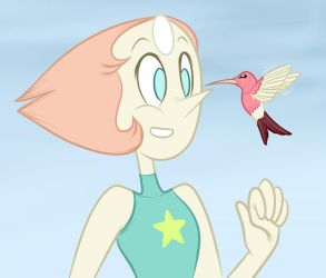 Pearl And The Hummingbird by ChadRocco