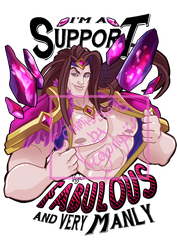 Im Support FABULOUS and very MANLY by VegaNya