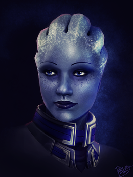 Mass Effect: Liara T'soni by ruthiebutt