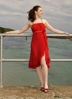 Red Dress by Odette-Roissy