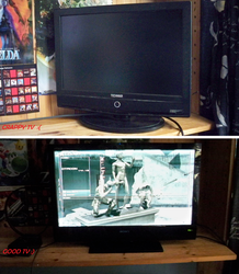 Mah new TV that dosen't suck by Meleemario364