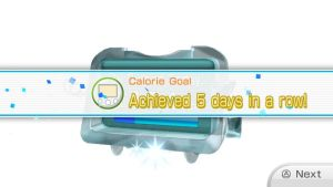 Calorie burning Goal Fifth day in a Row by Keyotea