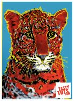 Andy Warhol Leopard in Adobe Photoshop by tastytuts