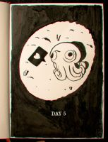 DAY 5: This is Cthulhu 100 years ago.. FELLING OLD by Stupchek