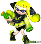 DV030 - Pagedoll - SSBU Inkling Girl 2 by DaVinci030