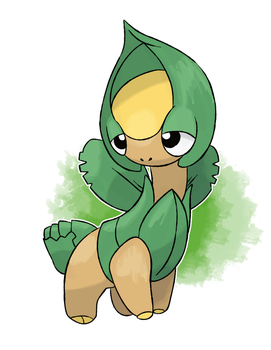 Fakemon - Tropius Baby Evolution by DevilDman