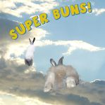Corny Bunny Superheros by ThirdPotato