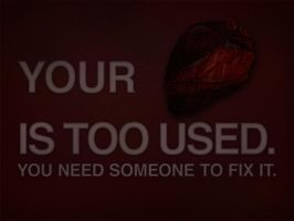 your heart is too used by creatreedesign