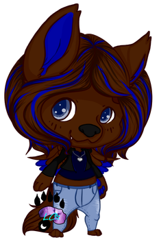 ~: Sapphire Wolf [GFT] :~ by LillithCrescent