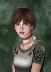 Rebecca Chambers by FabyLP