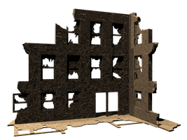 Building Ruins2a by mysticmorning