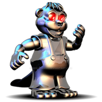 BAD CHIPPER IN FNAF WORLD!!!!!!!!!!! by MrPacManh