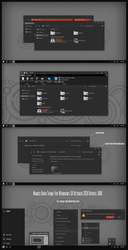 Numix Dark Theme Win10 October 2018 Update by Cleodesktop