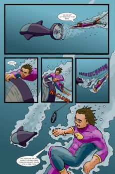 Super Clyde - Water Comic Page 10 Recolored by vytera