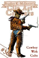 CAC506-Cowboy with Colts by BKMcDevitt